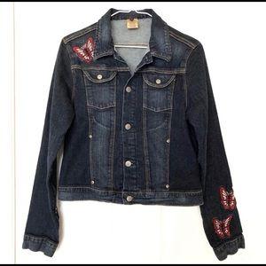 Seven for Mankind Butterfly Denim Jacket